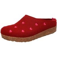 Schuhe Damen Hausschuhe Haflinger Couricini 741031-42 paprika rot