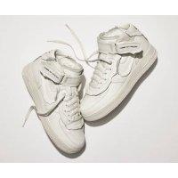 Schuhe Sneaker Low Nike Air Force 1 high x Comme des Garçons WHITE/WHITE-BLACK WHITE