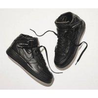 Schuhe Sneaker High Nike Air Force 1 high x Comme des Garçons  BLACK/BLACK-WHITE-BLACK