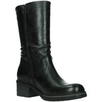Schuhe Damen Stiefel Wolky Stiefel Edmonton 0126120-000 black Velvet Leather 0126120-000 schwarz