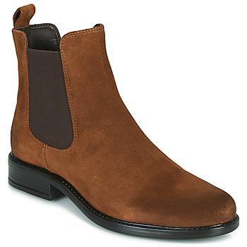 Schuhe Damen Boots Jonak ADELICE Camel
