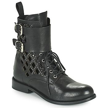 Schuhe Damen Boots Mimmu MONTONE NEROB Schwarz