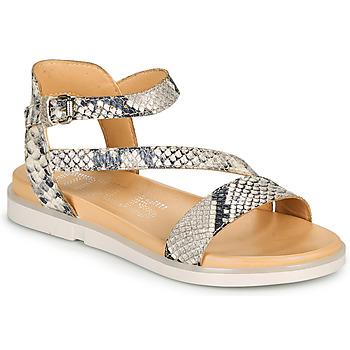 Schuhe Damen Sandalen / Sandaletten Mjus KETTA Silbern