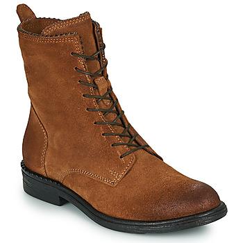 Schuhe Damen Boots Mjus PAL LACE Camel
