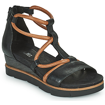 Schuhe Damen Sandalen / Sandaletten Mjus TAPASITA Schwarz / Camel