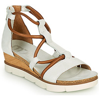Schuhe Damen Sandalen / Sandaletten Mjus TAPASITA Weiss / Camel