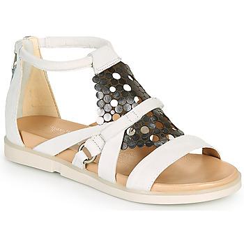 Schuhe Damen Sandalen / Sandaletten Mjus KETTA Weiss / Silbern