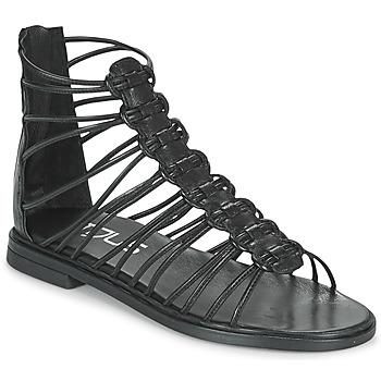 Schuhe Damen Sandalen / Sandaletten Mjus GRAM Schwarz