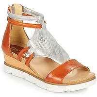 Schuhe Damen Sandalen / Sandaletten Mjus TAPASITA Silbern