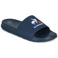 Schuhe Herren Pantoletten Le Coq Sportif SLIDE LOGO Blau
