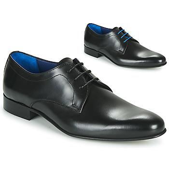 Schuhe Herren Derby-Schuhe Azzaro CRISTAN Schwarz