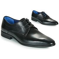 Schuhe Herren Derby-Schuhe Azzaro VILLAGE Schwarz