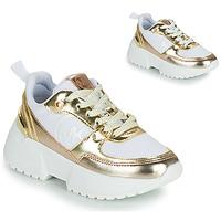 Schuhe Mädchen Sneaker Low MICHAEL Michael Kors COSMO SPORT Weiss / Gold