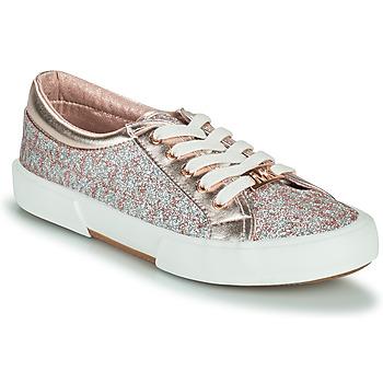 Schuhe Mädchen Sneaker Low MICHAEL Michael Kors IMA TINSEL Rose / Gold / Silbern