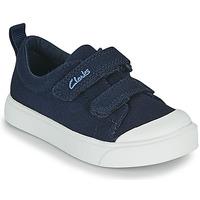 Schuhe Kinder Sneaker Low Clarks CITY BRIGHT T Marine