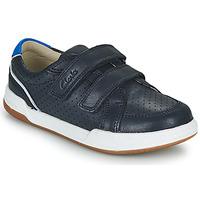 Schuhe Kinder Sneaker Low Clarks FAWN SOLO K Marine