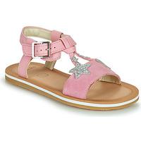 Schuhe Mädchen Sandalen / Sandaletten Clarks FINCH SUMMER K Rose