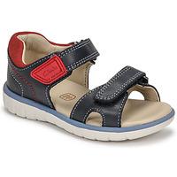 Schuhe Kinder Sandalen / Sandaletten Clarks ROAM SURF K Marine / Rot