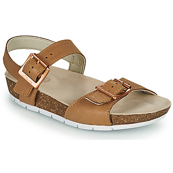 Schuhe Kinder Sandalen / Sandaletten Clarks RIVER SAND K Camel