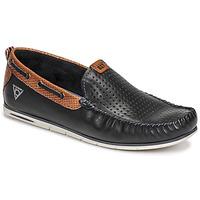 Schuhe Herren Slipper Bugatti CHESLEY Marine