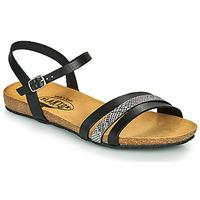 Schuhe Damen Sandalen / Sandaletten Plakton MAM ALOU Schwarz
