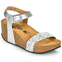Schuhe Damen Sandalen / Sandaletten Plakton SO KISS Silbern