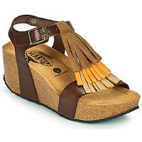 Schuhe Damen Sandalen / Sandaletten Plakton SO TONKA Braun