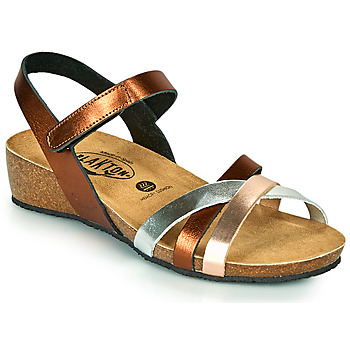 Schuhe Damen Sandalen / Sandaletten Plakton NOTE Kupfer / Rose / Silbern