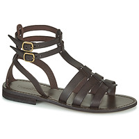 Schuhe Damen Sandalen / Sandaletten Dream in Green OBELLA Braun