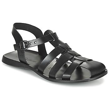 Schuhe Herren Sandalen / Sandaletten Dream in Green OPOL Schwarz