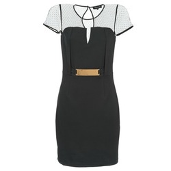 Kleidung Damen Kurze Kleider Morgan ROULA Schwarz