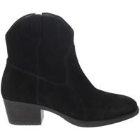 Schuhe Damen Low Boots Riposella IC-30 Schwarz