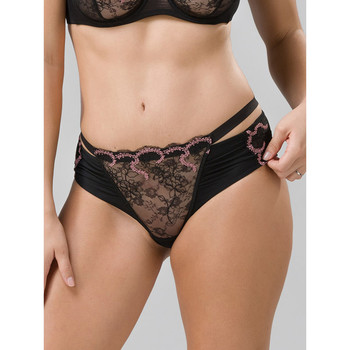 Unterwäsche Damen Shorties / Boxers Luna Shorty Moulin Rouge Perlschwarz