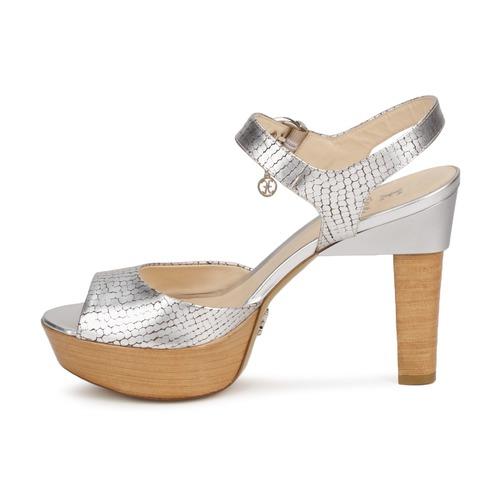 Fabi KAITE / Silbern  Schuhe Sandalen / KAITE Sandaletten Damen 239,90 1947ee