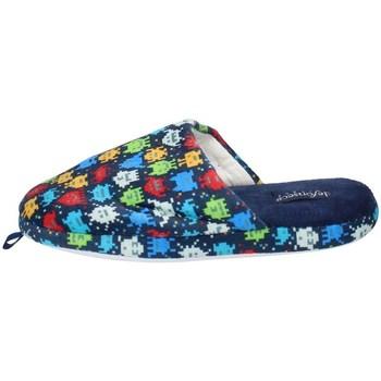 Schuhe Jungen Pantoletten De Fonseca ROMA I U516 BLAU