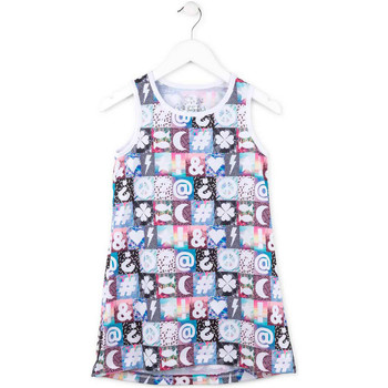 Kleidung Mädchen Kurze Kleider Losan 714 7001AB Rosa