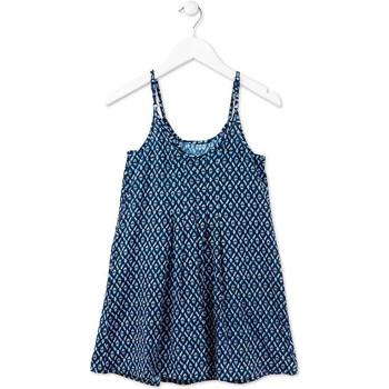 Kleidung Mädchen Kurze Kleider Losan 714 7017AB Blau