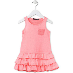 Kleidung Mädchen Kurze Kleider Losan 716 7009AD Rosa