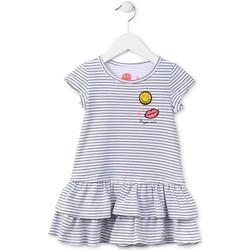 Kleidung Mädchen Kurze Kleider Losan 716 7065AD Blau