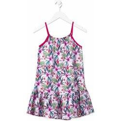 Kleidung Mädchen Kurze Kleider Losan 814-7043AB Rosa