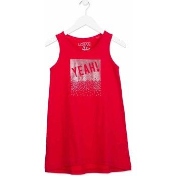 Kleidung Mädchen Kurze Kleider Losan 814-7300AB Rosa