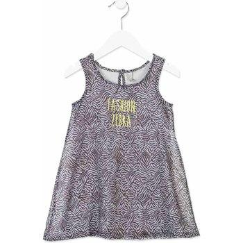 Kleidung Mädchen Kurze Kleider Losan 816-7033AD Grau