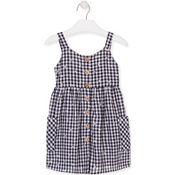 Kleidung Mädchen Kurze Kleider Losan 016-7002AL Blau