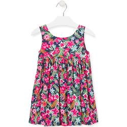 Kleidung Mädchen Kurze Kleider Losan 016-7036AL Rosa