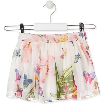 Kleidung Mädchen Röcke Losan 016-7781AL Weiß