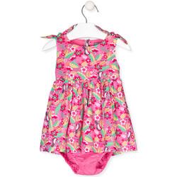 Kleidung Mädchen Kleider Losan 018-7006AL Rosa
