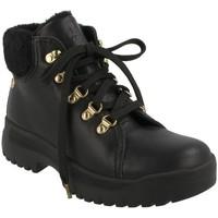 Schuhe Damen Low Boots Panama Jack  Negro