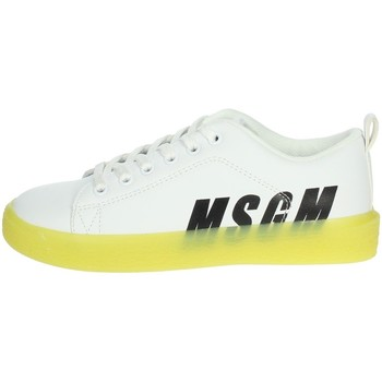 Schuhe Kinder Sneaker Low Msgm 022764 Weiss