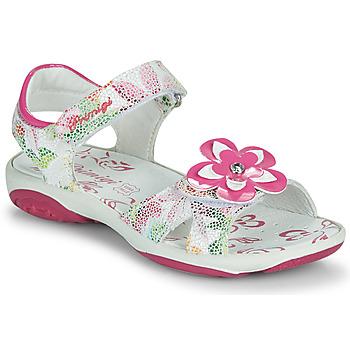 Schuhe Mädchen Sandalen / Sandaletten Primigi SARAH Weiss