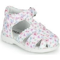 Schuhe Mädchen Sandalen / Sandaletten Primigi NOEMIE Weiss / Multicolor